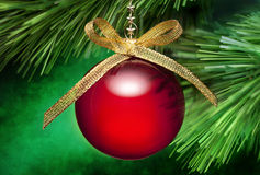 Christmas Tree Ornament Background Royalty Free Stock Photo