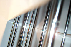 Chrome bars Royalty Free Stock Photography