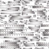 Chrome square regular tiles. Royalty Free Stock Photography