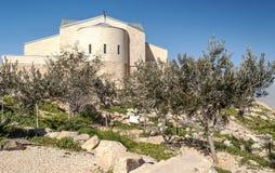 Church on Mount Nebo Royalty Free Stock Photos