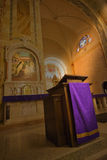Church Pulpit, Christian Religion Royalty Free Stock Photos