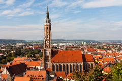 Church of St. Martin in Landshut Royalty Free Stock Images