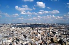 Cielo blu sopra Montmartre 2 Fotografia Stock