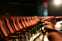 Cinema Seats Stock Image