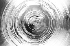 Circle mercury chrome texture background, Stock Photography