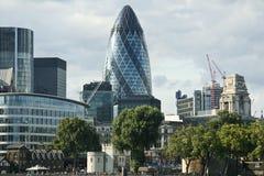 City of London business district skyline uk Stock Image