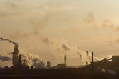 City Smog Stock Photo