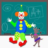 Class clown Royalty Free Stock Photo