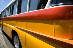 Classic bus malta europe Royalty Free Stock Photos