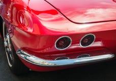 Classic Corvette details Stock Photos