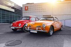 Classic german cars Royalty Free Stock Photography