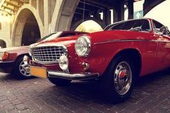 Classic swedish car Stock Images