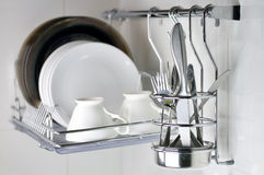 Clean dishware Stock Photography