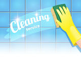 Cleaning service Stock Photo
