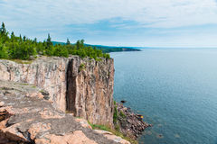 The Cliff of Palisade Head Stock Images
