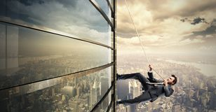 Climb to the success Royalty Free Stock Photography