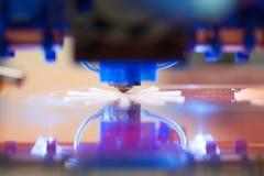 Close-up van 3D printerdruk Royalty-vrije Stock Foto
