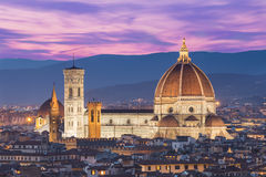 Close up view of Duomo in Florence, Italy Royalty Free Stock Photo