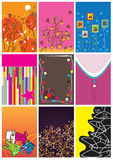 Cloth Size And Tags_eps Stock Photography