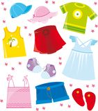 Clothes series- summer Stock Image