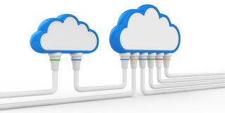 Cloud and communications Royalty Free Stock Photos