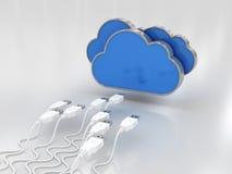 Cloud Data Royalty Free Stock Image