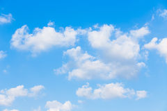 Clouds with blue sky background Royalty Free Stock Image