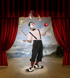 Clown 2 Stock Foto's