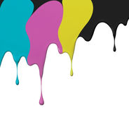 Cmyk paint Royalty Free Stock Images