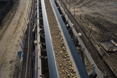 Coal transportation line Royalty Free Stock Image