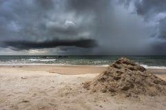Coastline storm Royalty Free Stock Photo