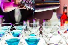 Cocktail drinks Stock Photos