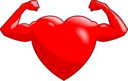 Coeur intense Photographie stock libre de droits