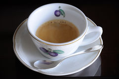Expresso Coffee cup Royalty Free Stock Photography