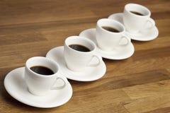 Coffee cups. Stock Photos