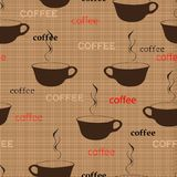 Coffee repetition Royalty Free Stock Photo
