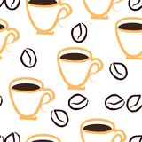 Coffee repetition Royalty Free Stock Photography