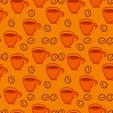 Coffee repetition Royalty Free Stock Images