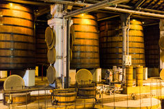 Cognac Distillery Royalty Free Stock Images