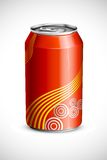 Cold Drink Can Stock Photo