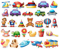 Collection of toys Stock Image