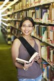College Student at a Library Stock Photography
