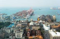 Colombo harbor Royalty Free Stock Image
