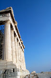 Colonne al Parthenon Fotografia Stock Libera da Diritti