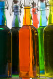 Color Bottles Stock Photo