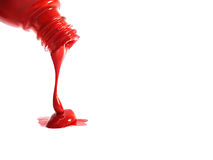 Color spilling Royalty Free Stock Image