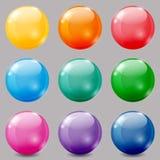 Colored balls Royalty Free Stock Photos
