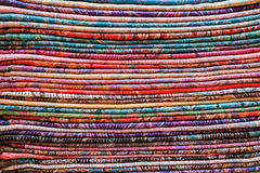 Colored fabric Royalty Free Stock Image
