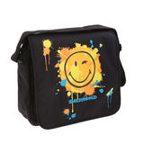 Colored school bag Royalty Free Stock Photos