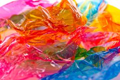 Colorful candy wrapper Royalty Free Stock Photography